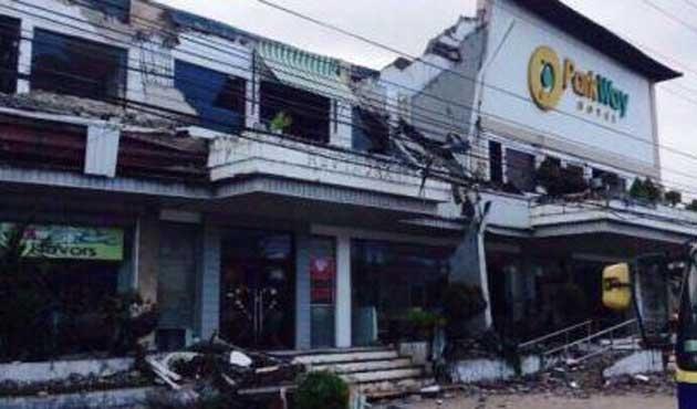 Filipinler'de deprem ateşkesi