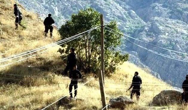Amanoslarda PKK ile sıcak temas