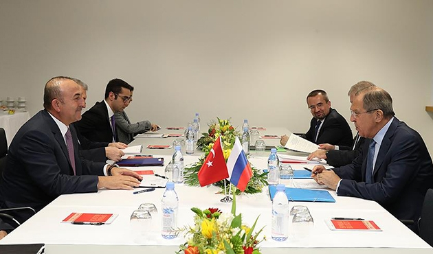 Çavuşoğlu ve Lavrov Suriye'deki son gelişmeleri görüştü