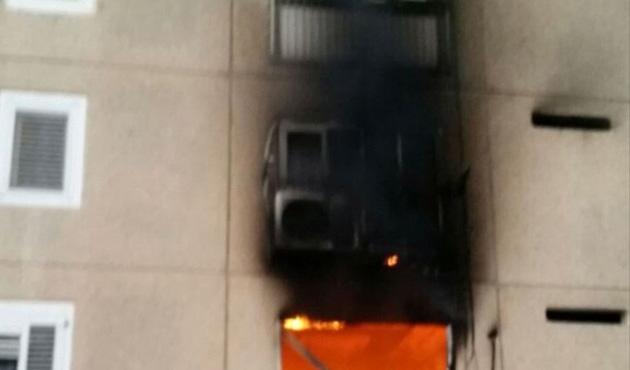 İsrail'de apartman yangını: 21 yaralı
