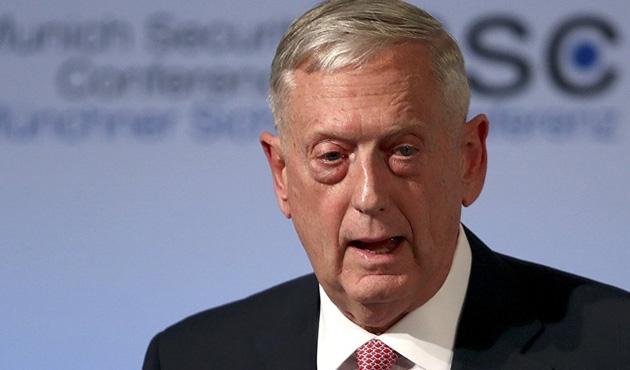 ABD Savunma Bakanı Mattis ilk kez Irak'ta