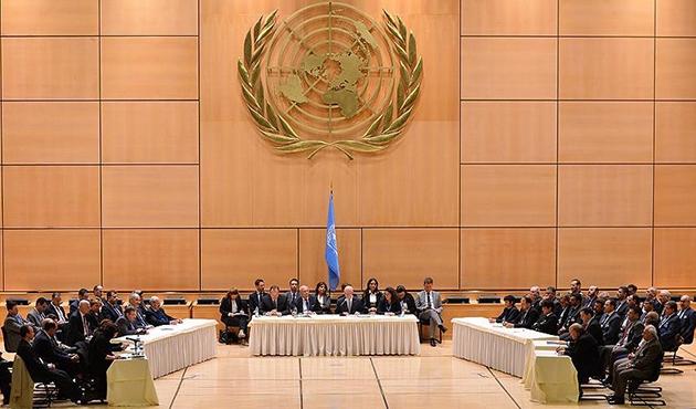 Suriye konulu Cenevre 4 görüşmeleri devam ediyor