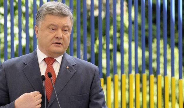 Poroşenko: Sivillerin güvenliği için her türlü eyleme hazırız