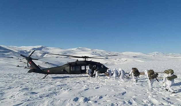 Ağrı'da PKK'ya hava destekli operasyon