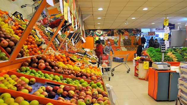 Enflasyon Şubat'ta çift haneye çıktı