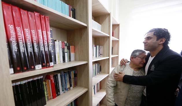 Şehidin adına 3 bin kitaplı kütüphane