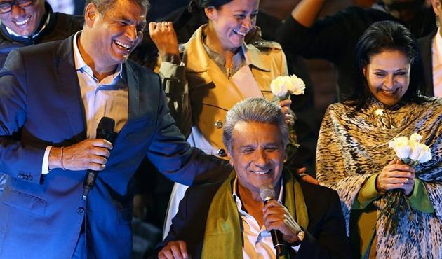 Ekvador'un yeni başkanı Moreno oldu, Assange rahatladı