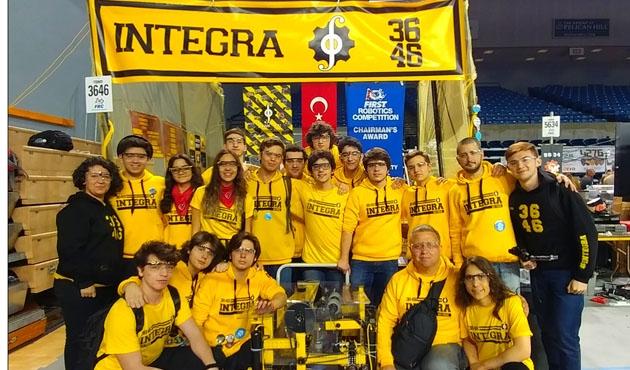 Amerika'da ödül alan Türk Robotik takımı Türkiye'ye dönüyor