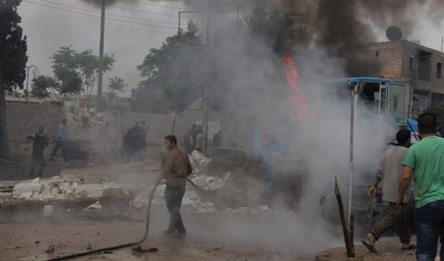 PYD'den Azez'de sivillere saldırı