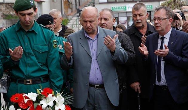 Saraybosna'daki Dobrovoljacka çatışmalarının 25. yıldönümü