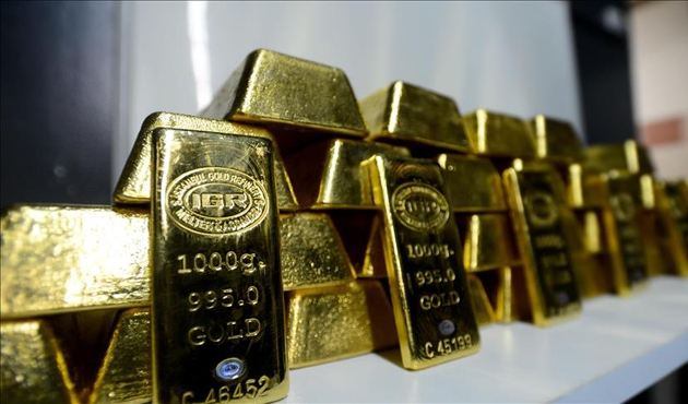 Altının onsu yaklaşık 1 yılın en yüksek seviyesinde