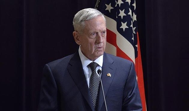 ABD Savunma Bakanı Mattis'den 'Afrin' itirafı