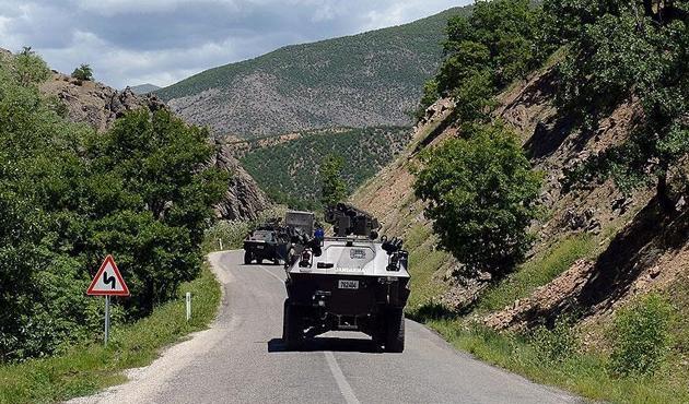 Munzur dağlarında sıcak çatışma, 4 PKK'lı öldü