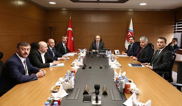 Başbakan Yardımcısı Kurtulmuş'tan TRT'ye ziyaret