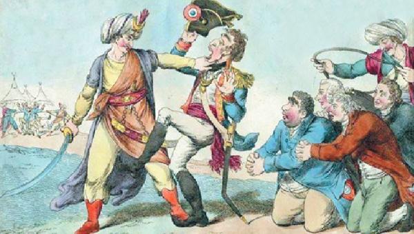 Yenilmez denilen Napolyon Akka Kalesi önünde yenildi