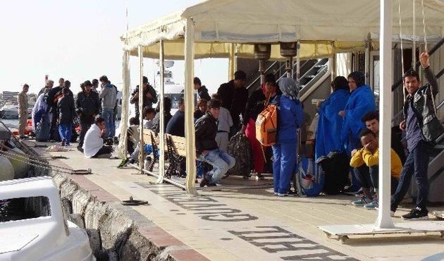 Çanakkale'de 112 yabancı uyruklu yakalandı