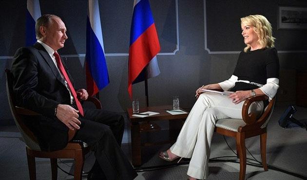 Putin ABD televizyonuna vatanperverliğini anlattı