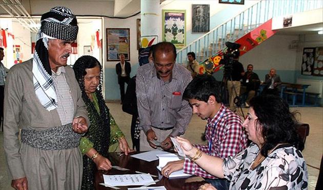 IKBY'de seçime 'Hayır' kampanyası