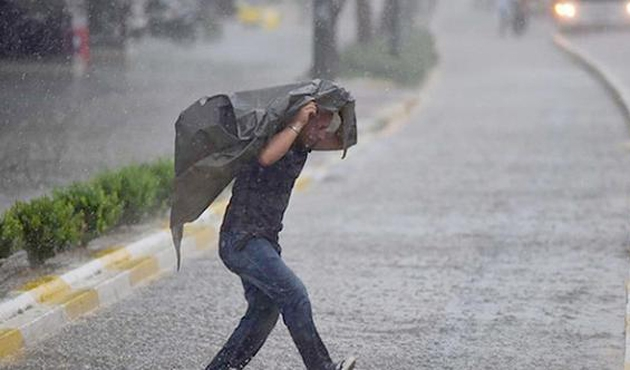 Meteoroloji'den Batı Akdeniz için şiddetli sağanak uyarısı