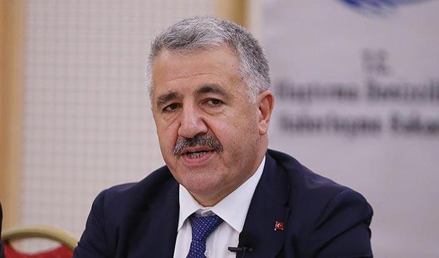 Ulaştırma Bakanı Arslan'ın acı günü