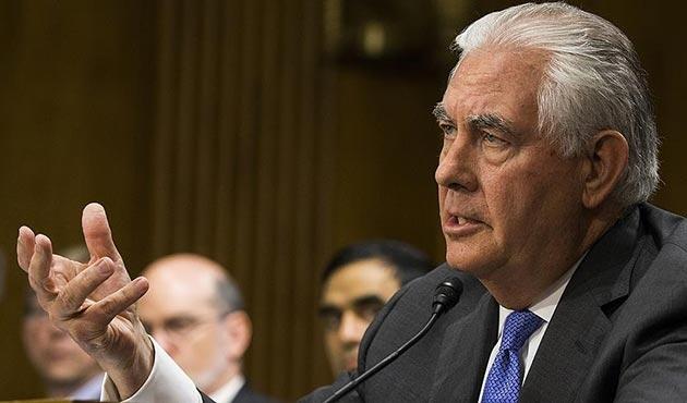 Tillerson: Kuzey Kore ile diyalog kurmamız Kim Jong Un'a bağlı