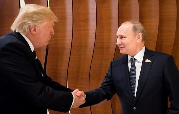 Trump'tan Putin ile gizli görüşme yaptığı iddiasına yalanlama