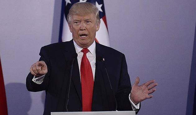 Trump ABD'yi karıştıran ırkçı grupları hedefe aldı