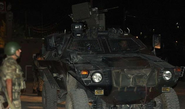 Tunceli'de jandarma karakoluna PKK'lılardan taciz ateşi