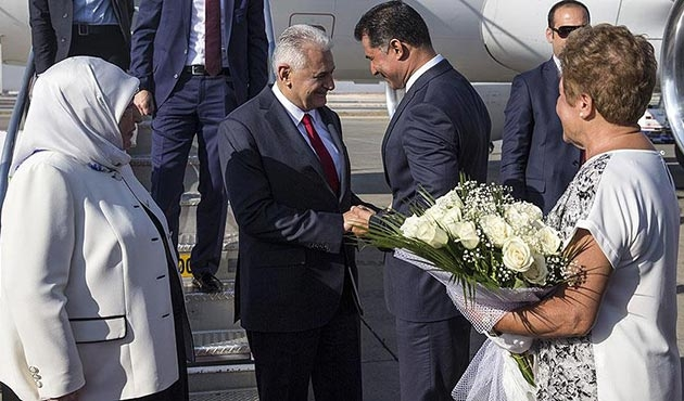 Başbakan Binali Yıldırım KKTC'de