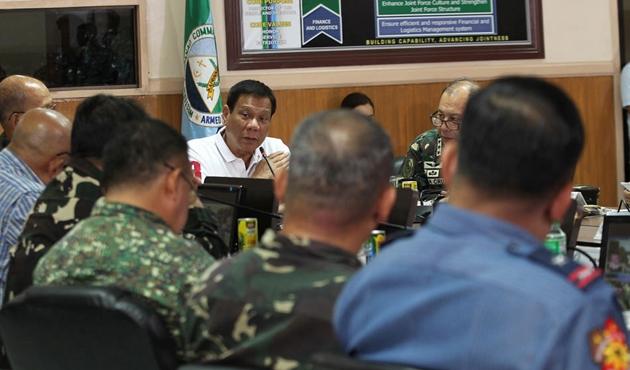 Duterte'den Filipinler Kongresine mektup
