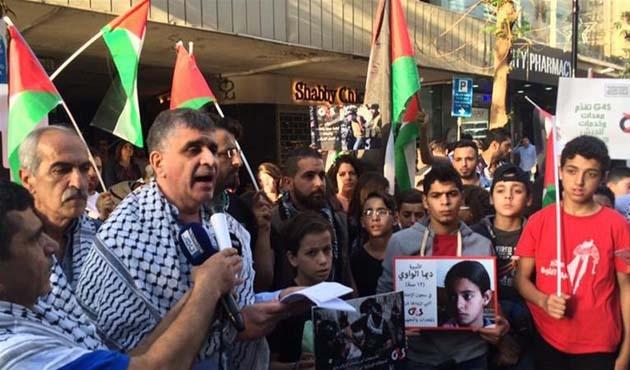 İsrail Lübnan'da protesto edildi