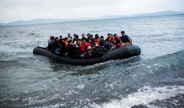Akdeniz'de 68 kaçak göçmen kurtarıldı