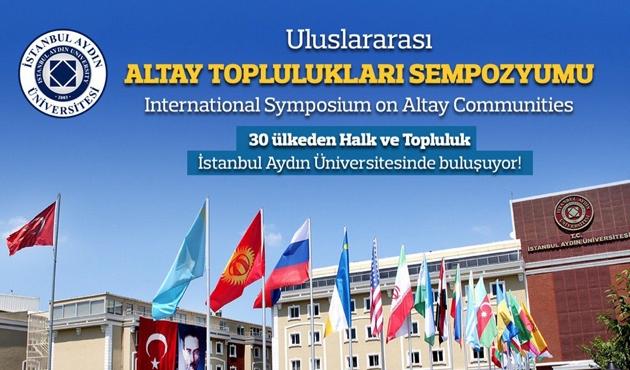 'Uluslararası Altay Toplulukları Sempozyumu' başladı