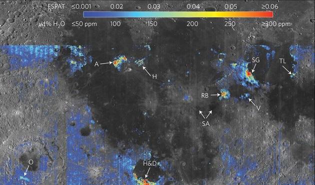 Ay'ın volkanik tortularında su olabilir