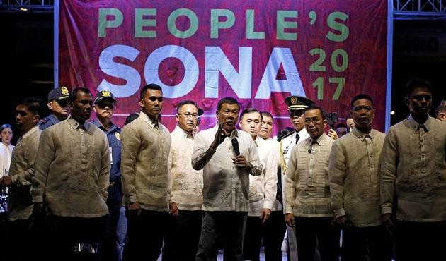 Duterte protestoculara meydan okudu