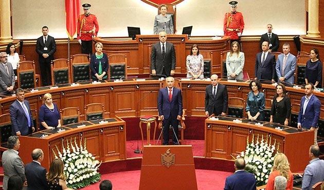Arnavutluk'un yeni Cumhurbaşkanı İlir Meta yemin etti