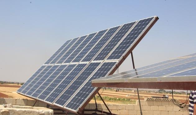 Suriye'de elektrik sorununa güneş enerjili çözüm
