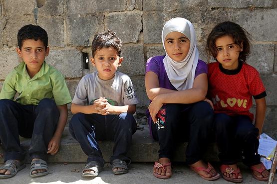 Doğu Guta'da binden fazla aç çocuğun hayatı tehlikede | GRAFİK