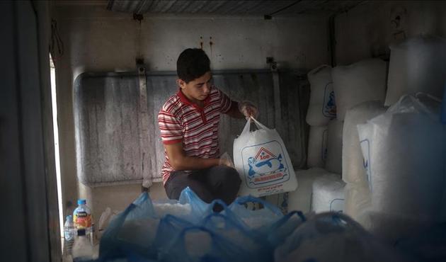Gazze'deki elektrik krizi 'buz fabrikalarını' da vurdu