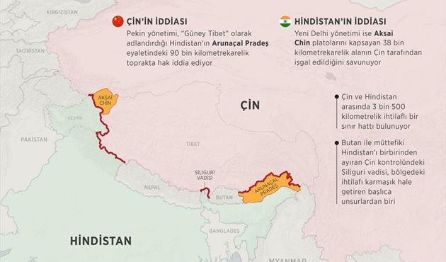 Çin ve Hindistan'ın sınır ötesi tansiyonu çıktı