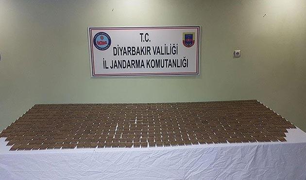 Diyarbakır'da 3 bin 518 keskin nişancı tüfeği fişeği ele geçirildi