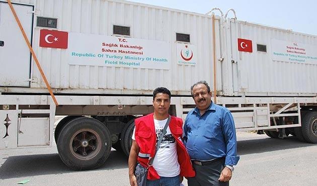Türkiye'nin Yemen'e gönderdiği yardımlar teslim edildi