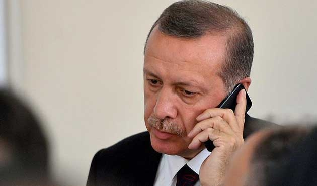 Erdoğan'dan Büyükerşen'e geçmiş olsun telefonu