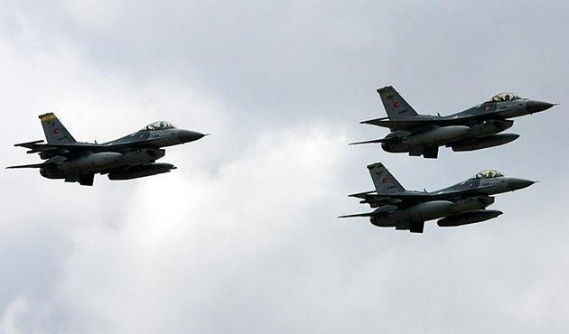 Zap bölgesinde eylem hazırlığındaki PKK'lılara hava harekatı