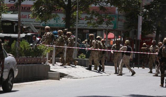 Kabil'de ABD Büyükelçiliği yakınında patlama