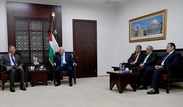 Filistin Devlet Başkanı Abbas, Hamas heyetini kabul etti