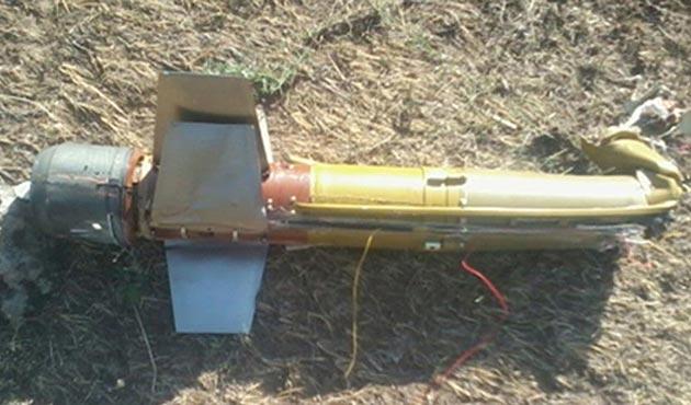 Ağrı Dağı'nda PKK'ya ait güdümlü tanksavar füzesi bulundu