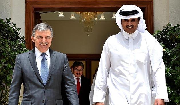 11. Cumhurbaşkanı Gül, Katar Emiri Al Sani ile görüştü