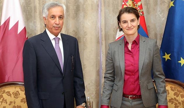 Sırbistan'dan Katar'a destek