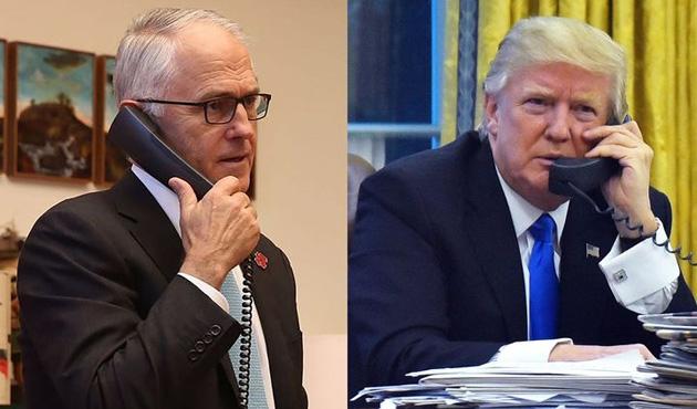 Trump'tan Turnbull'a: 'Benden daha kötüsün'